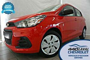 2016 Chevrolet Spark LS BLUETOOTH ** 20 KM **