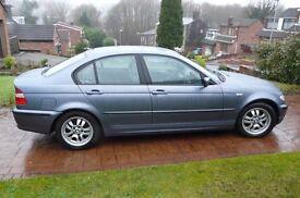 BMW 320 D SE. Blue, 4 Door saloon, Automatic, Diesel. Registered 2003 (03 Plate)