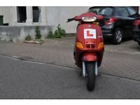 piaggio zip mk1 very low mileage. mot, logbook, very rare