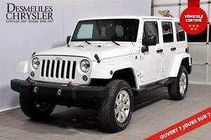 2014 Jeep Wrangler UNLIMITED SAHARA**2 TOITS**LIFT