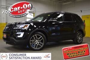 2017 Ford Explorer SPORT 365HP TWIN TURBO AWD LEATHER NAV DUAL R