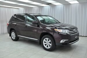 2013 Toyota Highlander 3.5L 4x4 7PASS SUV w/ BLUETOOTH, HEATED L