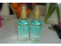 BRAND NEW 2 BOTTLES OF AVON SKIN SO SOFT FUSHIONS SUPERSILK BODY OIL