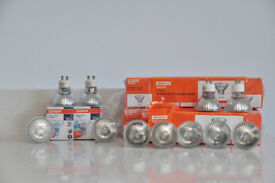 Twenty seven GU10 50W Halogen Light bulbs