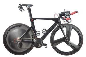 Vélo Carbone C-L-M 53 cm Neuf Group Vison Carbone, Roues Vision Carbone 5500 $