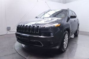 2015 Jeep Cherokee LIMITED AWD V6 MAGS CUIR