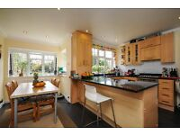 A beautiful, spacious five bedroom semi detached family home located in West Wimbledon