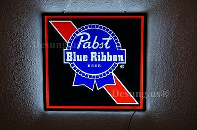 "New Pabst Blue Ribbon Beer LED Neon Sign 14"" Fast Ship for sale  USA"