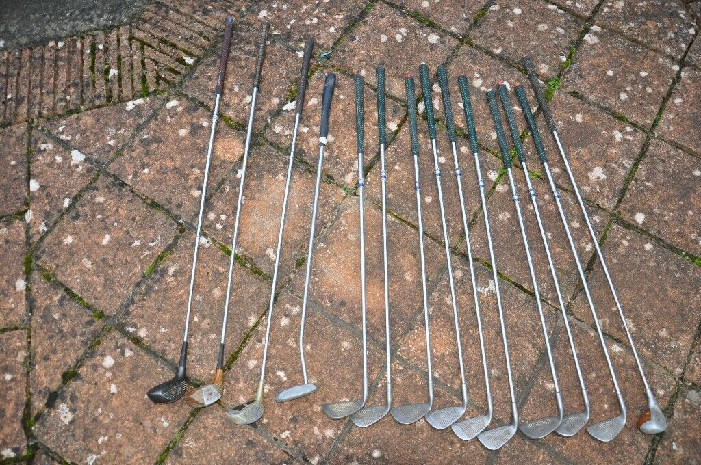 Golf Clubs - assorted