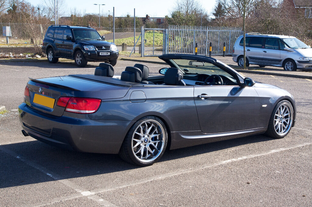 BMW 3 SERIES Convertible (E93) 330D M SPORT 2007