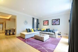 A stunning 1400sq ft 2 bed, 2 bath apartment with 2 private terraces, Redcliffe Square,SW10.