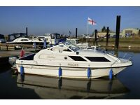 Shetland Saker Sports River Broads Coastal Cabin Motor Cruiser with 2k Refit