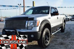 2011 Ford F-150 XLT / Leveling Kit / Aftemarked Exhuast