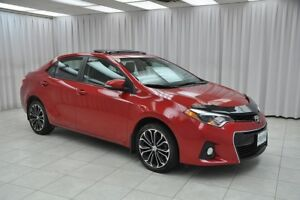 2015 Toyota Corolla SPORT SEDAN w/ BLUETOOTH, HEATED SEATS, SUNR
