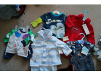 BNWT Baby Boy Clothes 0-3/3-6 months