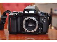 Nikon 90n 35mm film camera