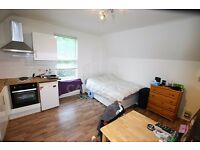 Quiet Studio Flat To Rent,Short Walk To Finchley Road And Swiss Cottage Tube,Includes Gas And Heat