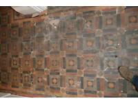 Minton hallway tiles