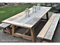 Rustic Eco Pallet Style Garden Furniture