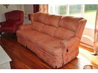 Three Seater Reclining Sofa