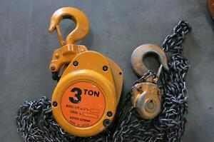 KITO 3 Ton Chain Hoist, Model CF4