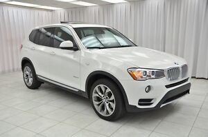 2017 BMW X3 28i x-DRIVE TURBO AWD LUXURY SUV w/ BLUETOOTH, HEA