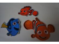 Patched up - Finding Nemo Collection Iron on Patch for Clothes,hats,bags,Shoes Etc.