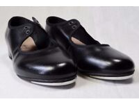 BLOCH Tap Shoes Used For Only 30 minutes Black Timestep 330 S0330GU Size: UK 12.5 EU 31