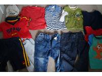 Baby boy clothes bundle size 18-24 months
