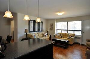 Fully-renovated open concept 2 bdrm apartment, West End!