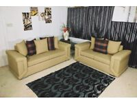 **25% off**ELEGANT FABRIC DYLAN CORNER Or 3 And 2 seaters sofa