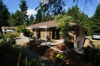 #$%#$% GORGEOUS ACREGE WITH 3 BDRM HOME IN DUNCAN %$#%$#