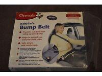 baby safe bump belt car clippasafe