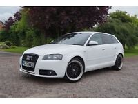 2007 07 Audi A3 2.0 TDi S line Quattro 170, Hpi clear, Part ex welcome,