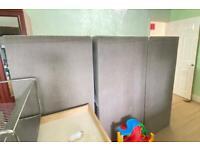 3 box base (king size), spring mattress + headboard