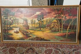 Needlepoint Tapestry picture