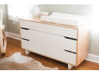 Ikea Mandal Chest Of 6 Drawers Birch White 139x79 Cm