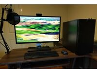 Editing/Gaming Streaming PC - i7 5820k - GTX960 - 32GB RAM - 256GB SSD - 1TB HDD
