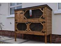 Rabbit housing and Hutches