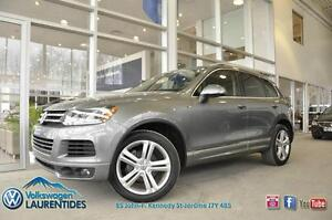 VOLKSWAGEN TOUAREG 2014 R-LINE**TDI**NAVIGATION**CUIR**MAGS**TOI