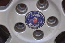 Saab alloys wheels great condition 16.5 inch diameter