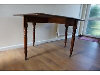Foldable Victorian table