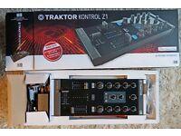 Native Instruments Traktor Kontrol Z1 DJ controller/mixer, as new