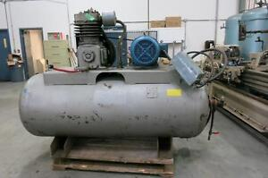 CURTIS Air Compressor, CFM 55, 208-230/460v, 15hp, 240gal