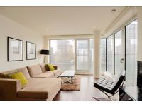 Stunning 2 bed 2 bath with direct dock views, gym, 24hr concierge, pool, Baltimore Wharf, E14, furn