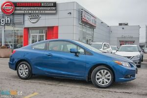 2012 Honda Civic LX (A5)-ACCIDENT FREE AND WELL MAINTAINED!!!