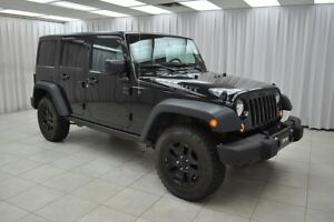 2016 Jeep Wrangler UNLIMITED TRAIL RATED 4x4 SUV w/ BLUETOOTH, R