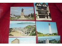 SELECTION OF 9 OLD POSTCARDS OF PLACES IN PLYMOUTH