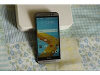 HTC One M9 (Grey, Unlocked, With Box)