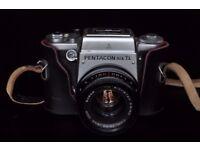 Pentacon Six TL medium format film camera